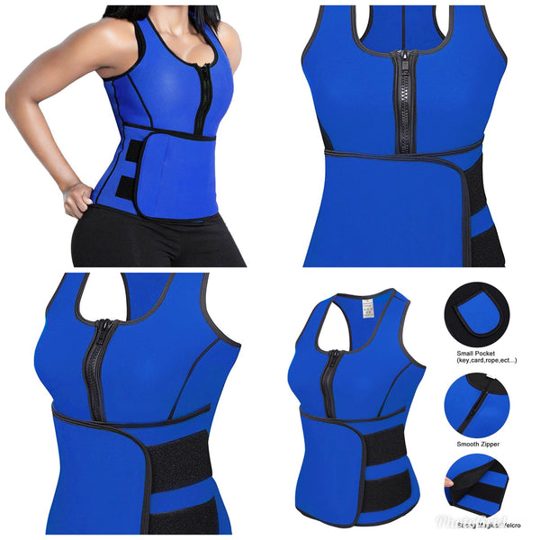 NEOPRENE WAIST TRAINER HOT SHAPER SLIMMING BELT BODY SHAPER