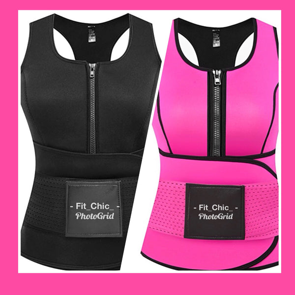CHANDA'S 2 IN 1 BODY RESHAPER WAIST TRAINER