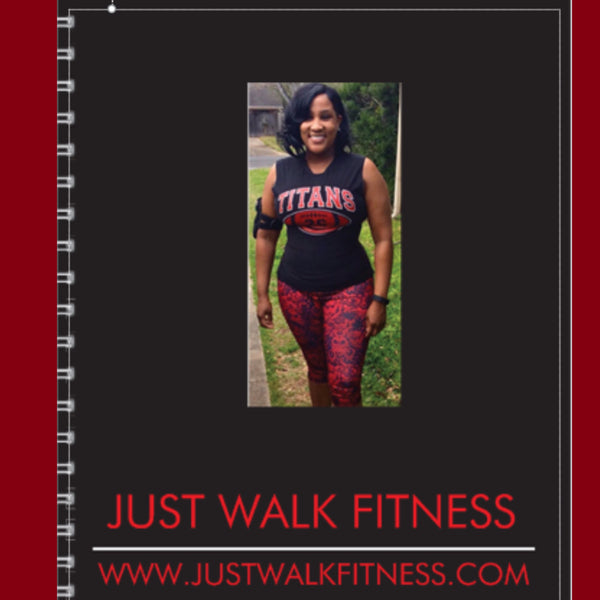 JUST WALK FITNESS FOOD/FITNESS NOTEBOOK