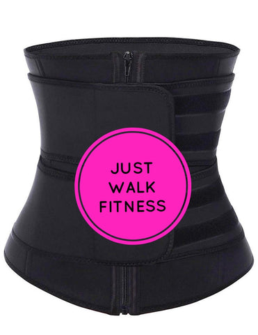 Just Walk Fitness Latex Zip Sweat Band