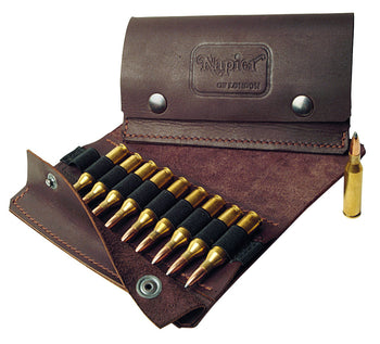 Leather Bullet Wallet 10 round