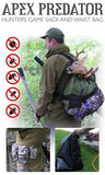 Apex Predator Hunters Game Sack & Waist Bag