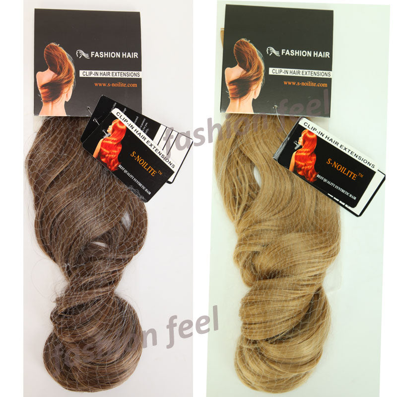 28 Hair Extension Real Natural Remy Hair Extentions Curly Synthetic