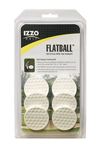 IZZO Golf Flatball Swing Training Aid