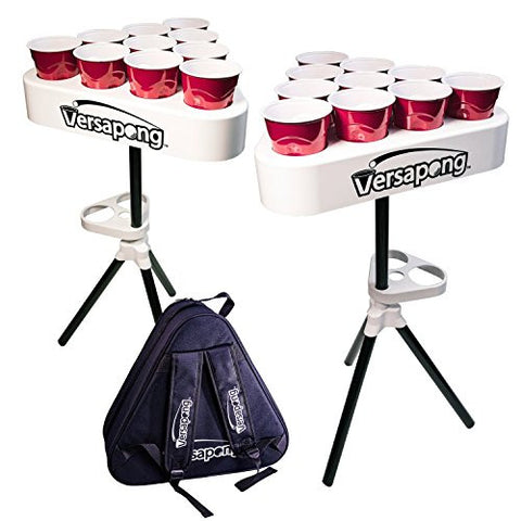Versapong Portable Beer Pong Table (Black)