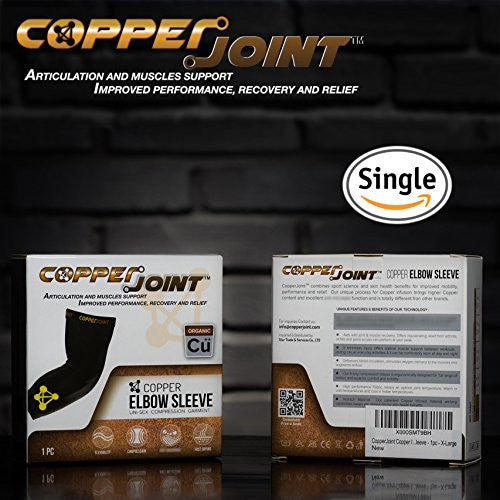 CopperJoint Compression Elbow Sleeve - Single