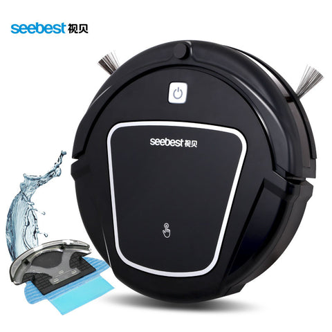 Robot Vacuum Cleaner with Wet/Dry Mopping Function