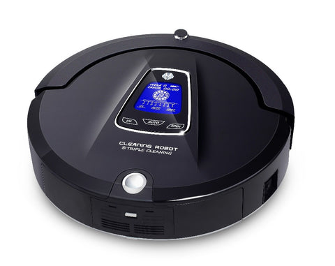 Multifunction Robot Vacuum Cleaner (Sweep,Vacuum,Mop,Sterilize),Schedule,Virtual Blocker,Self Charge