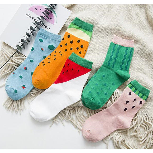 Lolita Fruit Socks