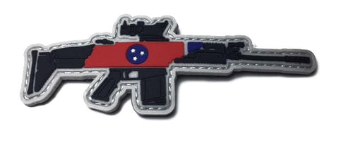 TN SCAR PVC Velcro Patch