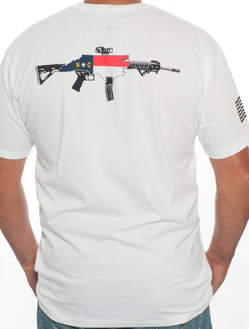 NC AR Rifle Unisex Tee (Color)