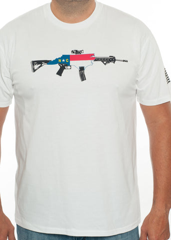 NC AR-15 Rifle Tee (Front Logo Promotional Shirt)