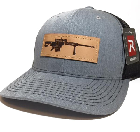 TN .50 Cal Leather Patch Hat (Heather)