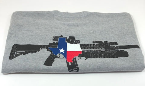 TX AR Tee(Heather Grey)