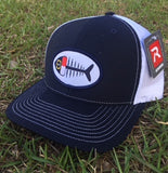 NC Fish Patch Trucker Hat (Navy)