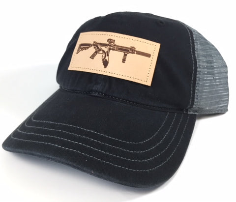 Unstructured Mesh FL AR Hat (Black/Charcoal)