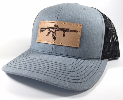 FL AR Leather Patch Hat (Heather Grey)