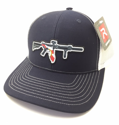 FL AR Trucker Hat (Navy/ White)