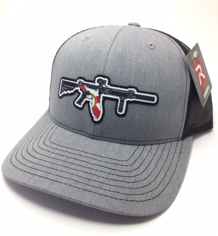 FL AR Trucker Hat (Heather Grey/Black)