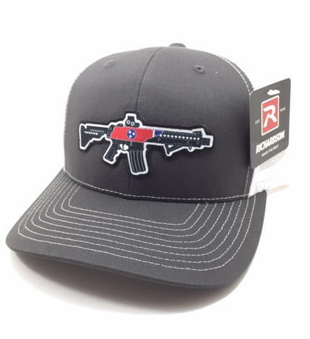 TN AR Trucker Hat (Charcoal/White)