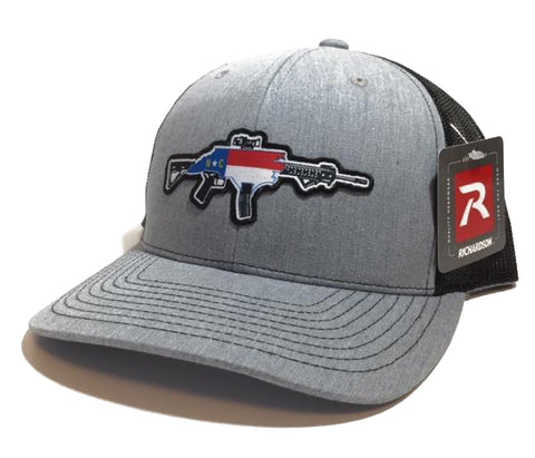 NC AR Trucker Hat (Heather)