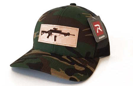 NC AR Leather Patch Hat (Camo)