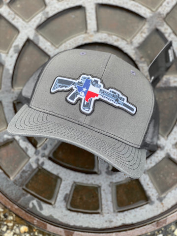 TX AR Charcoal/Black Hat