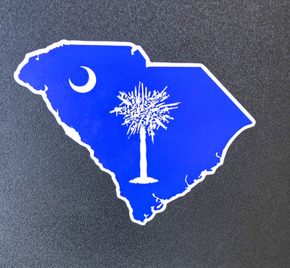 SC Palmetto Gun Tree sticker