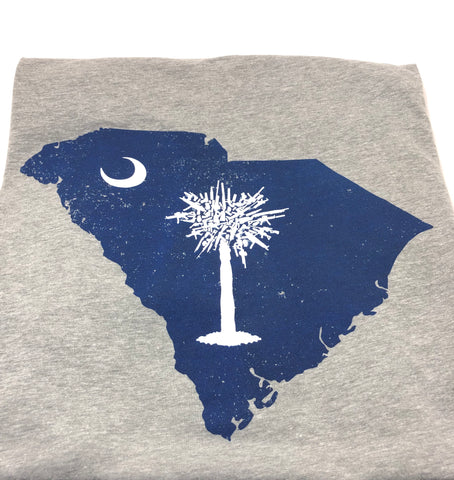 SC Palmetto Gun Tree (Heather Grey)