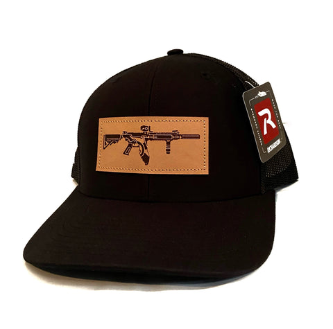 FL AR Leather Hat (Black)
