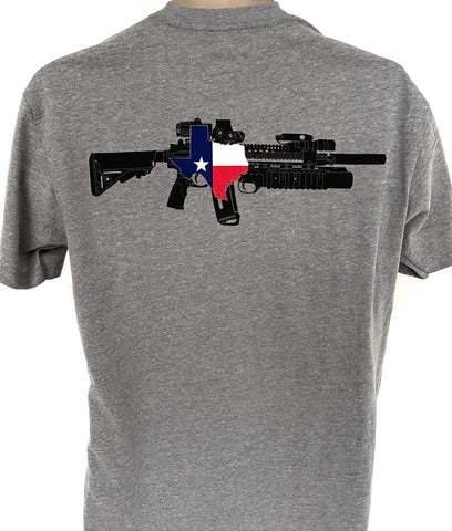 TX AR M203 Tee(Heather Grey)