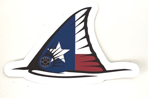 TX Redfish Tail Sticker