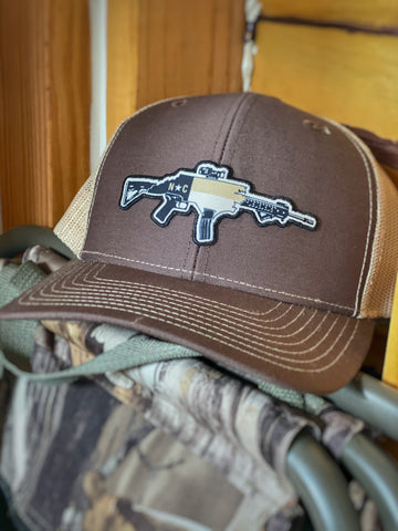 NC AR Brown/Khaki Hat
