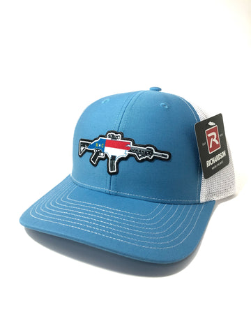NC AR Trucker Hat (Columbia blue)