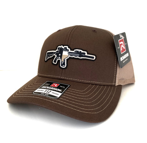 TX AR Brown/khaki Hat
