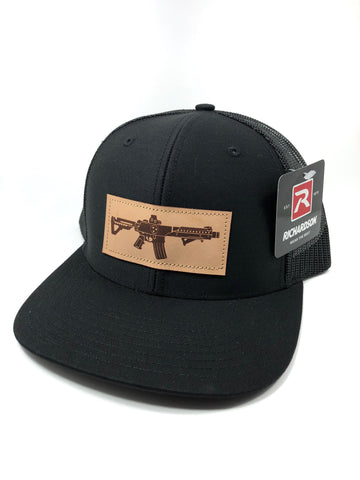 TN AR Leather Patch Hat (Black)