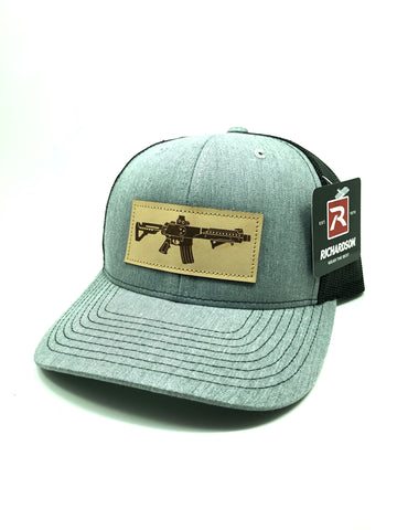TN AR Leather Patch Hat (Heather Grey)