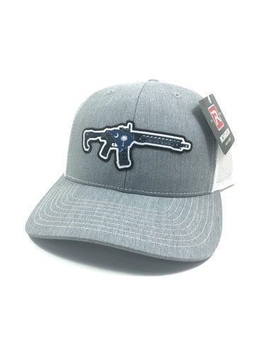 SC AR Trucker Hat (Heather Grey/White)