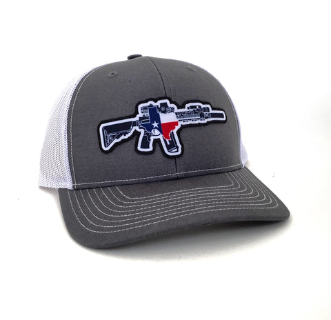 TX AR Charcoal/White Hat