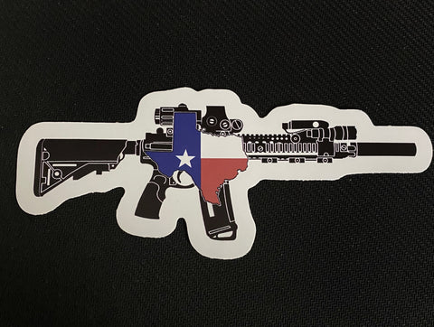 TX AR Sticker