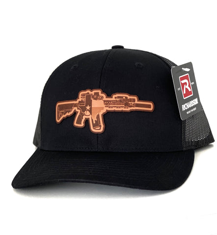 TX AR (Leather) Black Hat