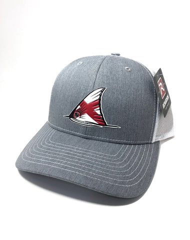 Alabama Red Fish Tail Hat (Heather Grey)