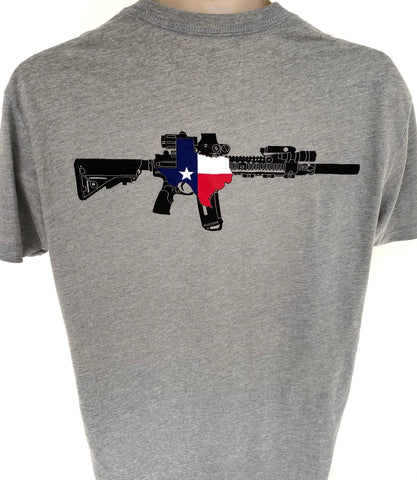 TX AR Tee (Heather Grey)