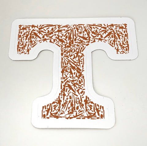 "TN Gun ""T"" Sticker"