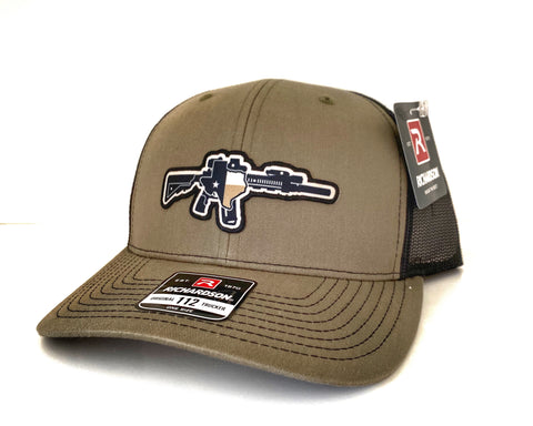 TX AR OD Green/Black Hat