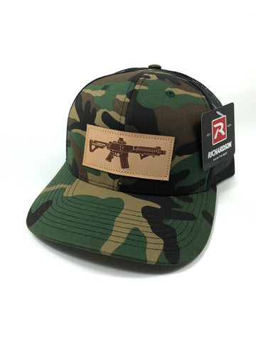 TN AR Leather Patch Hat (Camo)