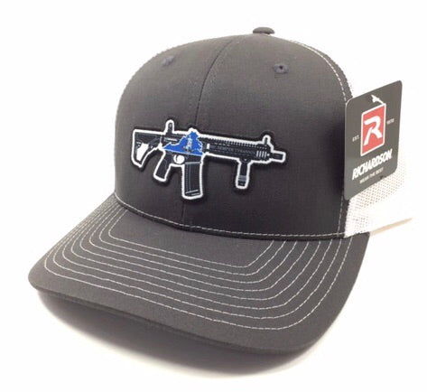 VA AR Hat (Charcoal/ White)