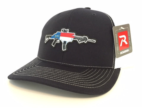NC AR Trucker Hat (Navy)