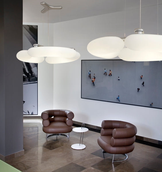 Blade Pendant from Next Lighting in Reception or Lounge area