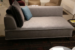 Freistil 144 Chaise with Left arm and back cushion  or daybed with roller resting on back